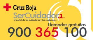 Teléfono de Ayuda a Cuidadores de Cruz Roja 900365100